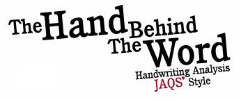 Handwriting Analysis Book THE  HAND BEHIND THE WORD