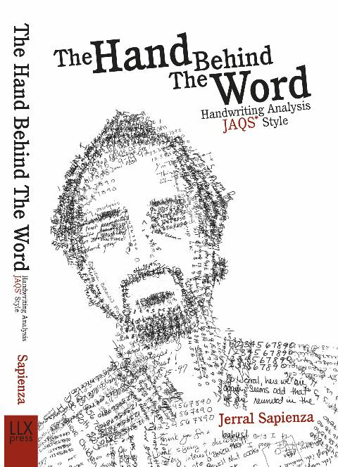 Cover of Handwriting Book THE HAND BEHIND  THE WORD